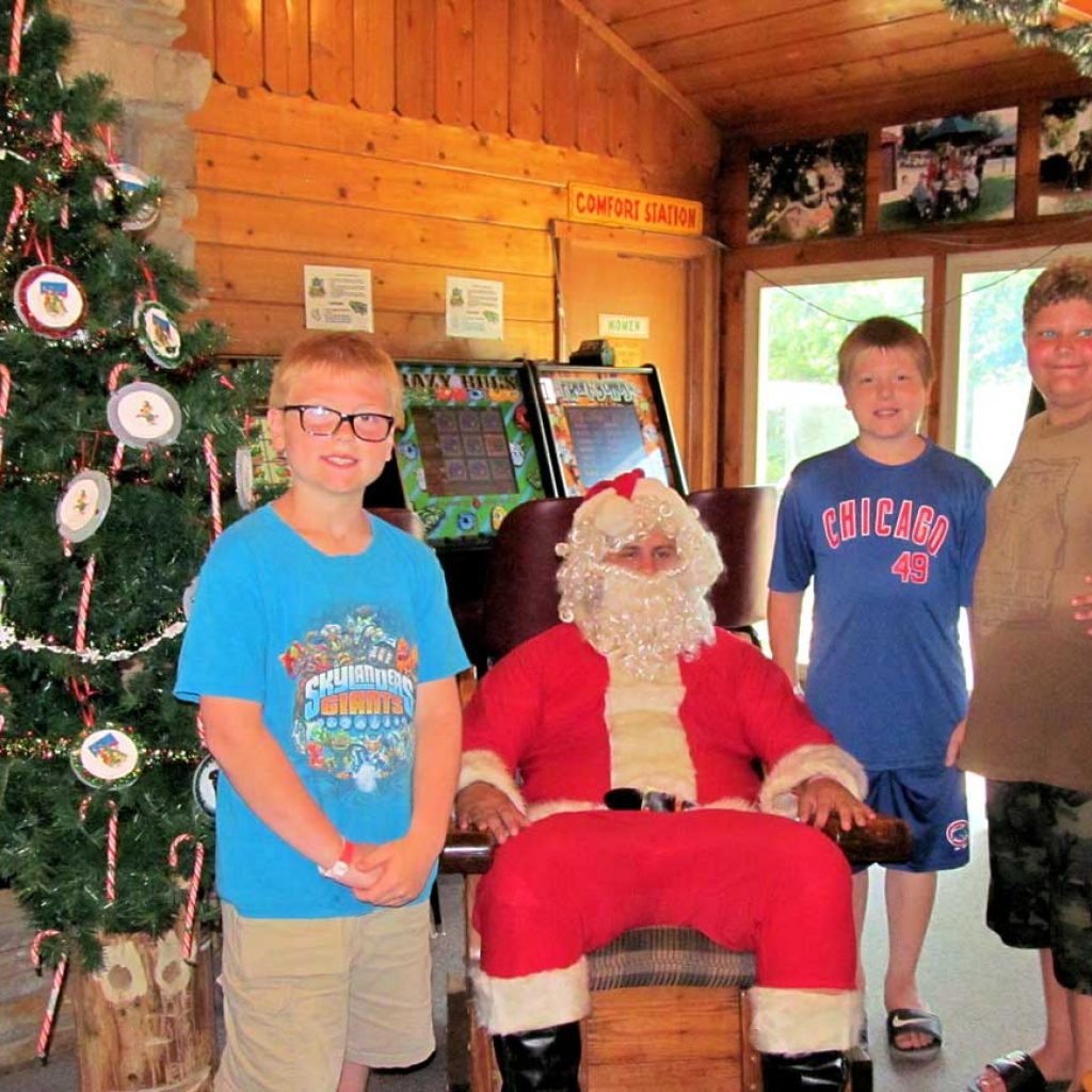 Christmas In July Camping Decorations.Events Jellystone Park Fort Atkinson Wisconsin